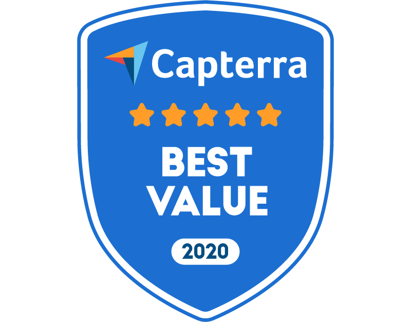 Capterra Best Value 2020
