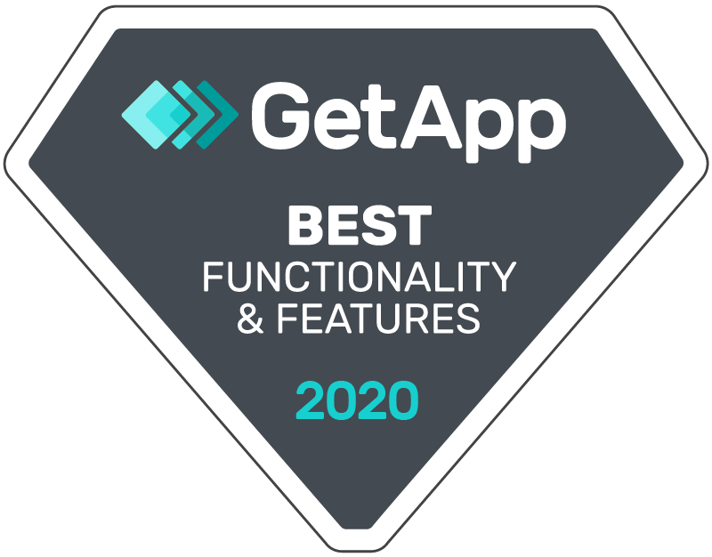 GetApp Best Functionality & Features 2020
