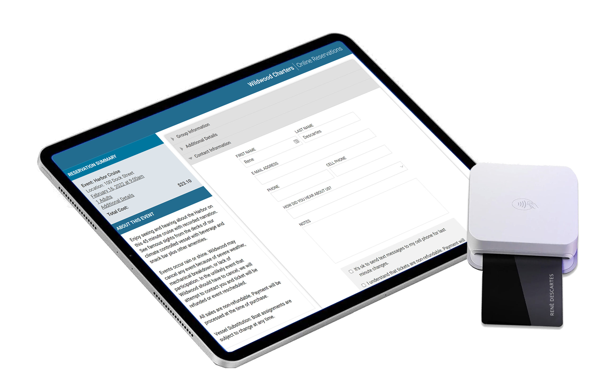 Kiosk App for Self-Service Booking | Starboard Suite Reservation System